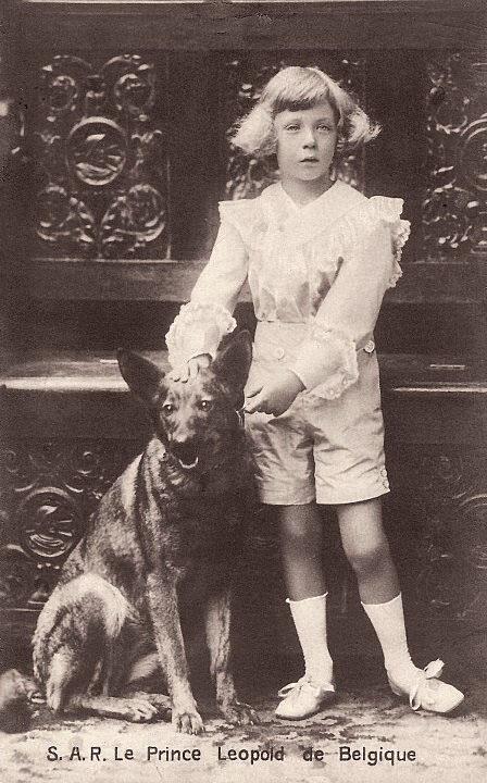 Бельгийский принц Леопольд, со своим малинуа