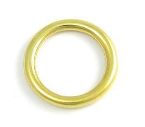 Кольцо латунное литое