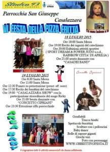 Festa della pizza fritta, 18 luglio a Casalazzara