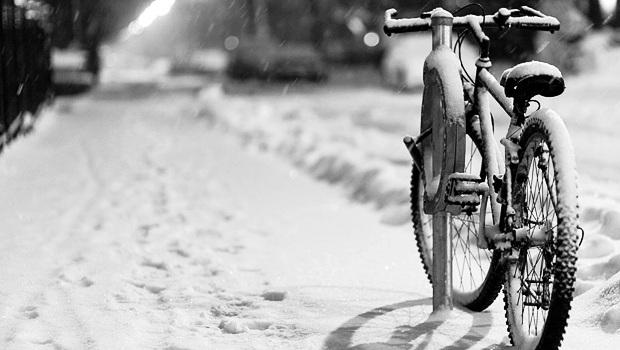 Pedalare al freddo