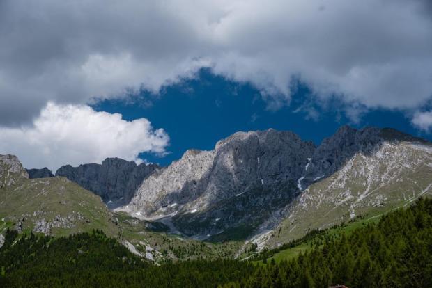 La Presolana fotografata da Enrico Casiraghi