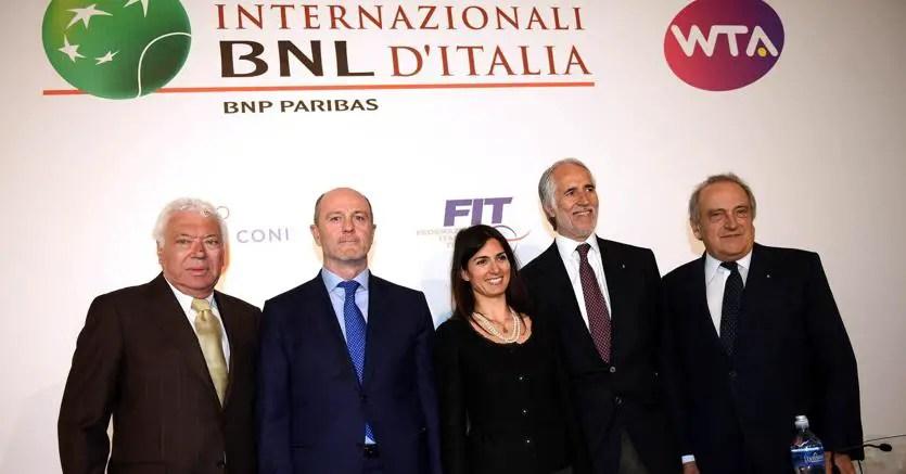 Internazionali di Roma, niente partite in piazza del Popolo
