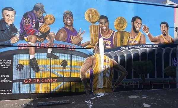 Los Angeles e l'accoglienza per Lebron James | numerosette.eu