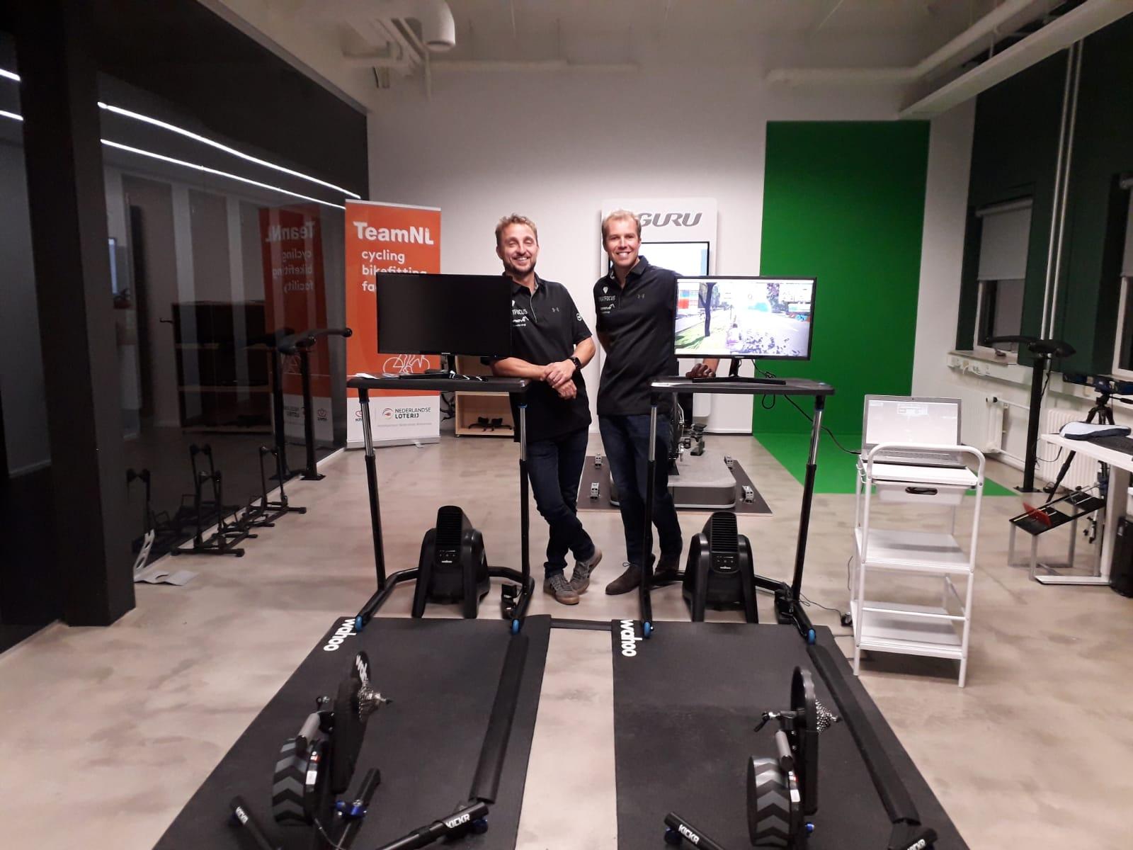 testlab met inspanningstesten en bikefitting eindhoven sportfocus sx gebouw