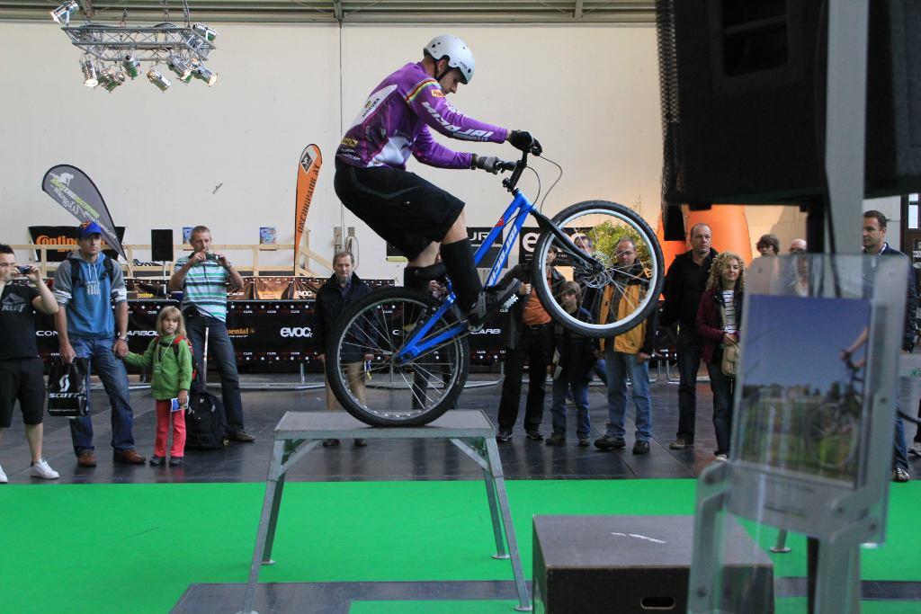 Bike Expo in München – coole Jumps und tolle Räder