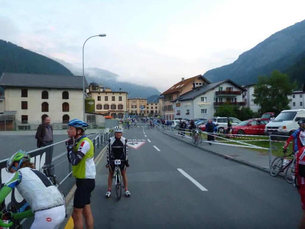 Engadin Radmarathon 2013 – viele Teilnehmer