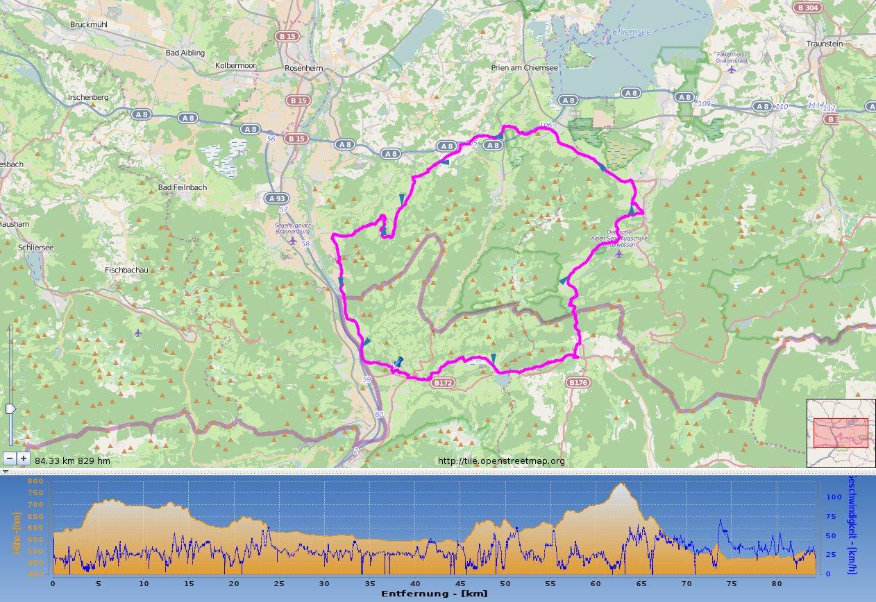 Tourentip: Tiroler Unterland & Oberbayern Runde