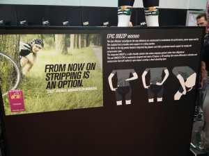 Eurobike 2016 – Bioracer bringt Damenshort mit vertikalem Reißverschluss
