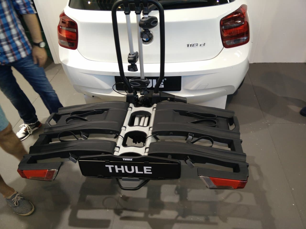 Eurobike 2016 – Thule Fahrradträger EasyFold XT
