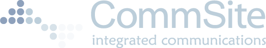 Commsite Vector Logo Inverted - Commsite Integrated Communications