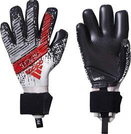 adidas Herren Predator Pro Torwarthandschuhe, silver met./Black/HI-RES RED S18, 9 - 1