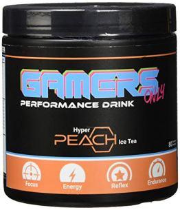 Gamers Only Hyper Pfirsich-Eistee, 80 Portionen, 400 gramm - 1