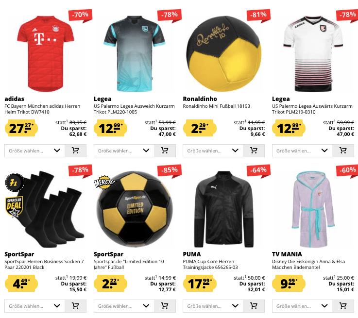 Sportspar Hot Deals