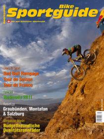 Sportguide Bike, April 2011, Cover
