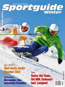 Sportguide Winter 2012, Cover