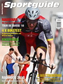 Sportguide Bike, April 2010, Cover