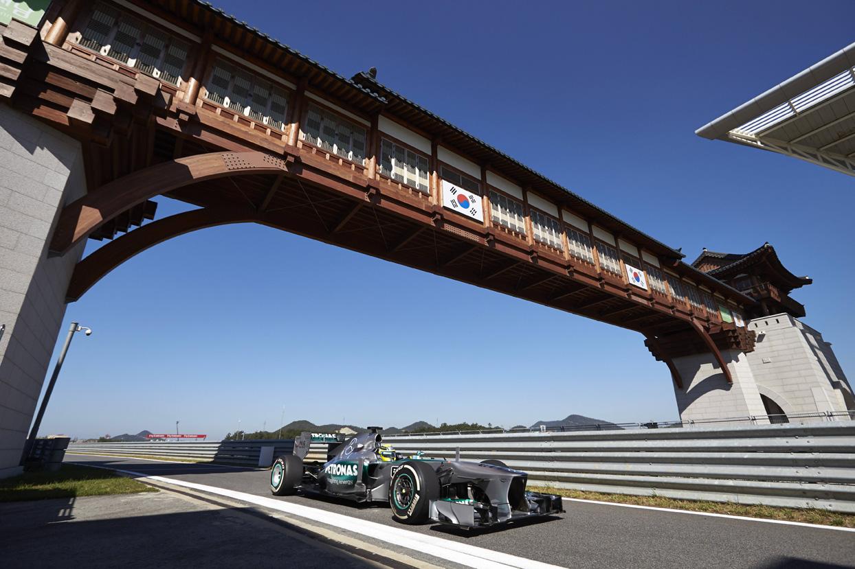 Formel 1 - Grosser Preis von Korea 2013, Freies Training, Mercedes