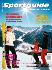 Sportguide Skiferien 2009/10, Cover