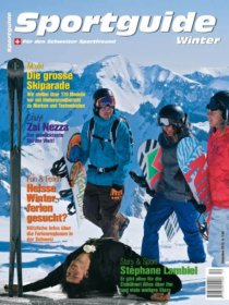 Sportguide Winter 2010, Cover