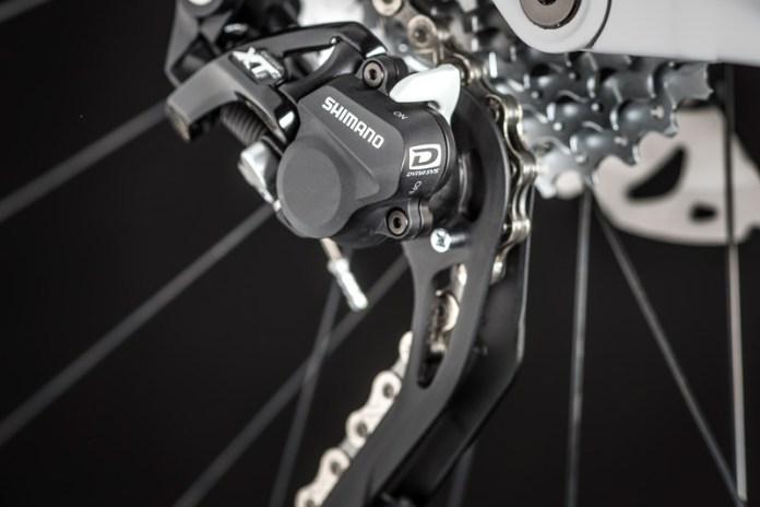 Pure Cycling Nerve AL 8.0, Schaltung
