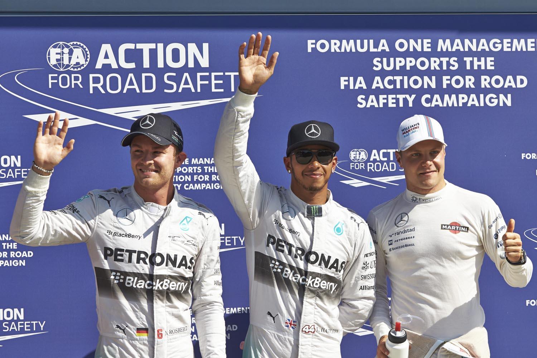 Formel 1 - GP Italien 2014, Podestplätze