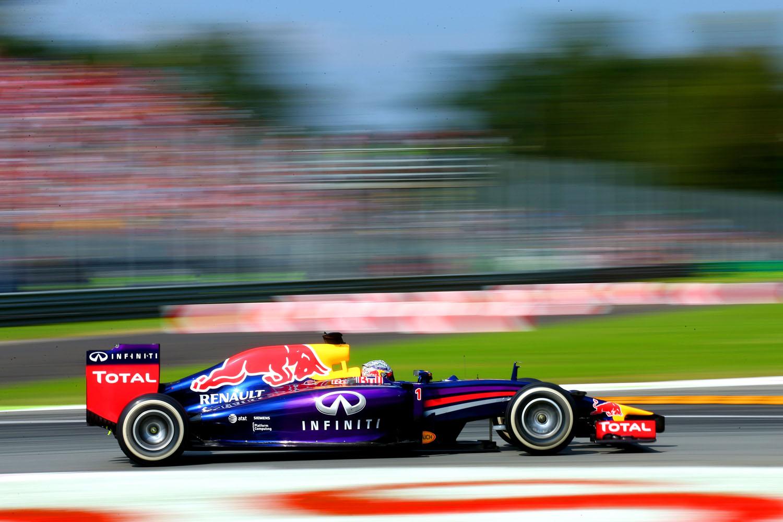 Formel 1 - GP Italien 2014, Red Bull