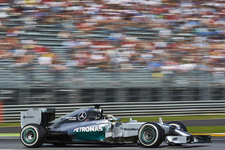 Formel 1 - GP Italien 2014, Mercedes