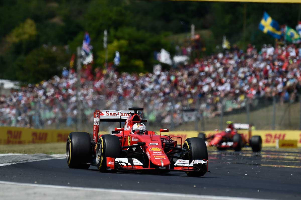 GP-Ungarn2015-Ferrari-Vettel-Track