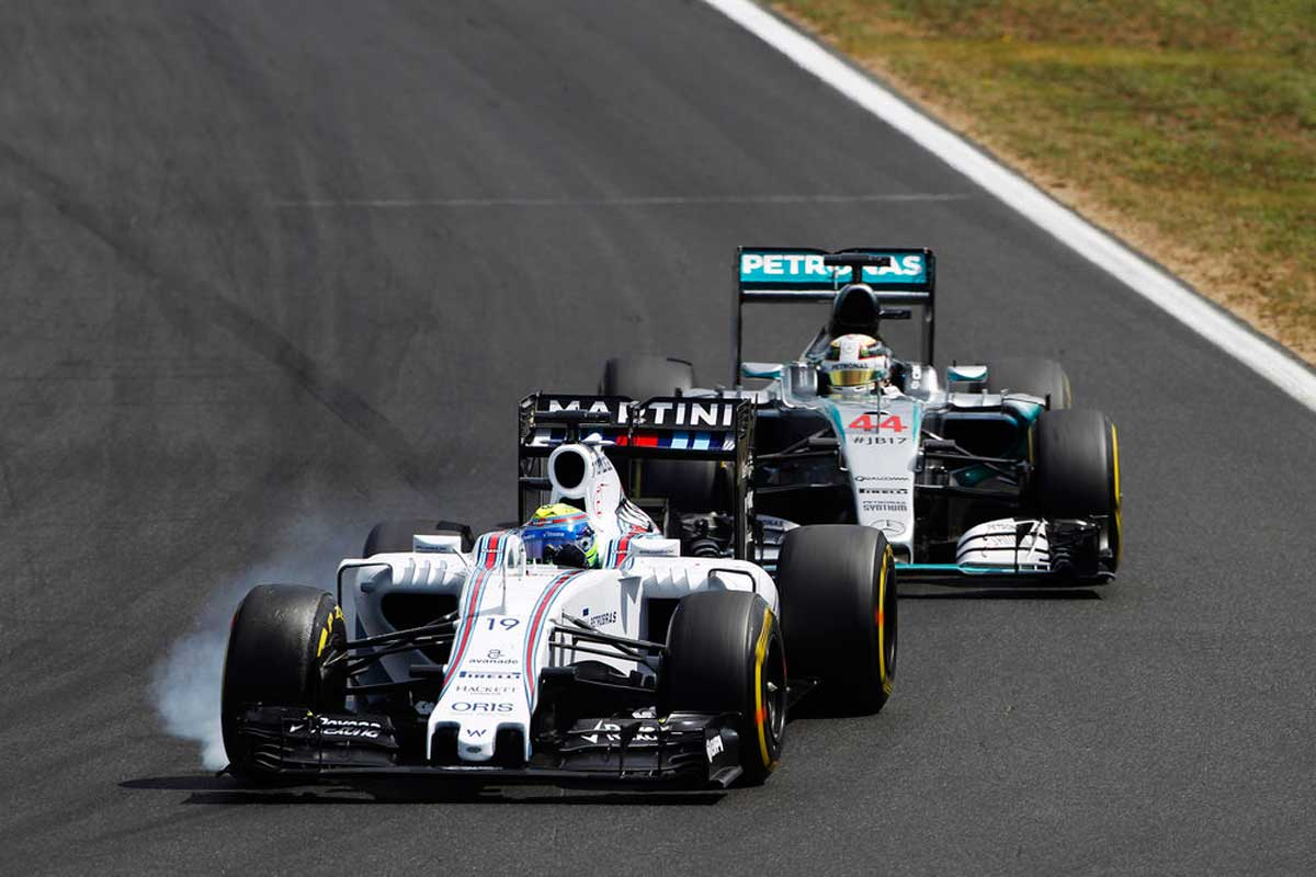 GP-Ungarn2015-Williams-vor-Mercedes