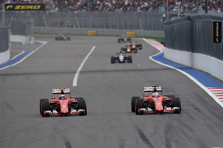 F1-GP-Russland2015-Ferrari-Duell