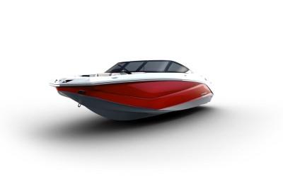 Scarab 215, Laser Red