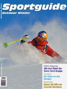 Umschlag Sportguide Outdoor Winter, 6/2016