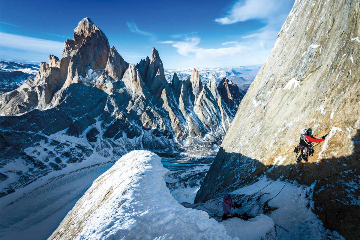 Cerro Standhardt, Route Exocet