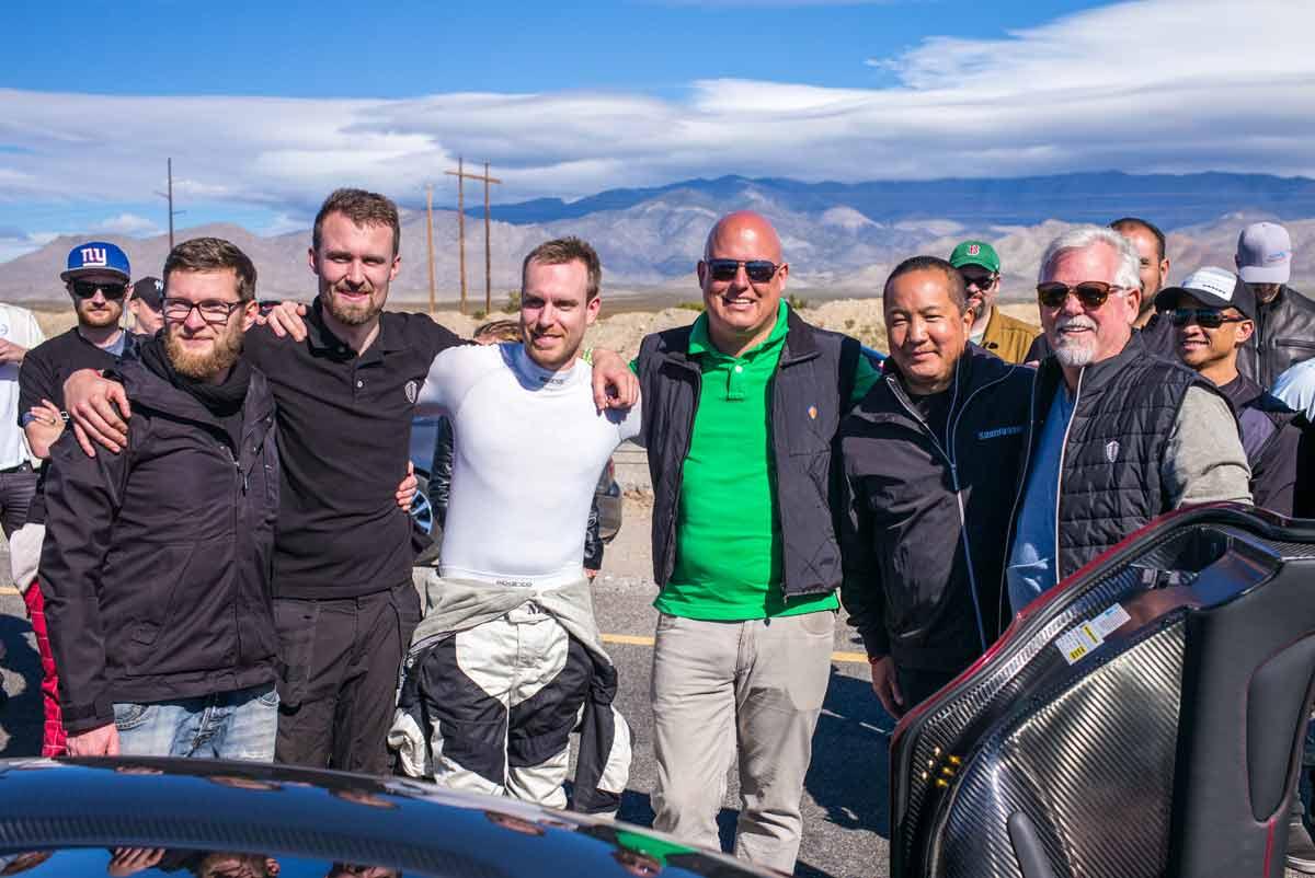 Koenigsegg Agera RS, Nevada Highspeedrekord, Bild5