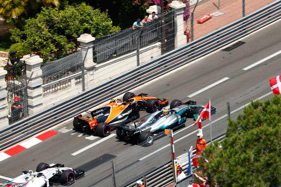 F1-GP-Monaco-Rennen