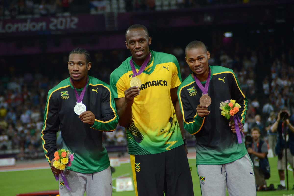 Usain Bolt, Olympiade Goldmedaille 200 m
