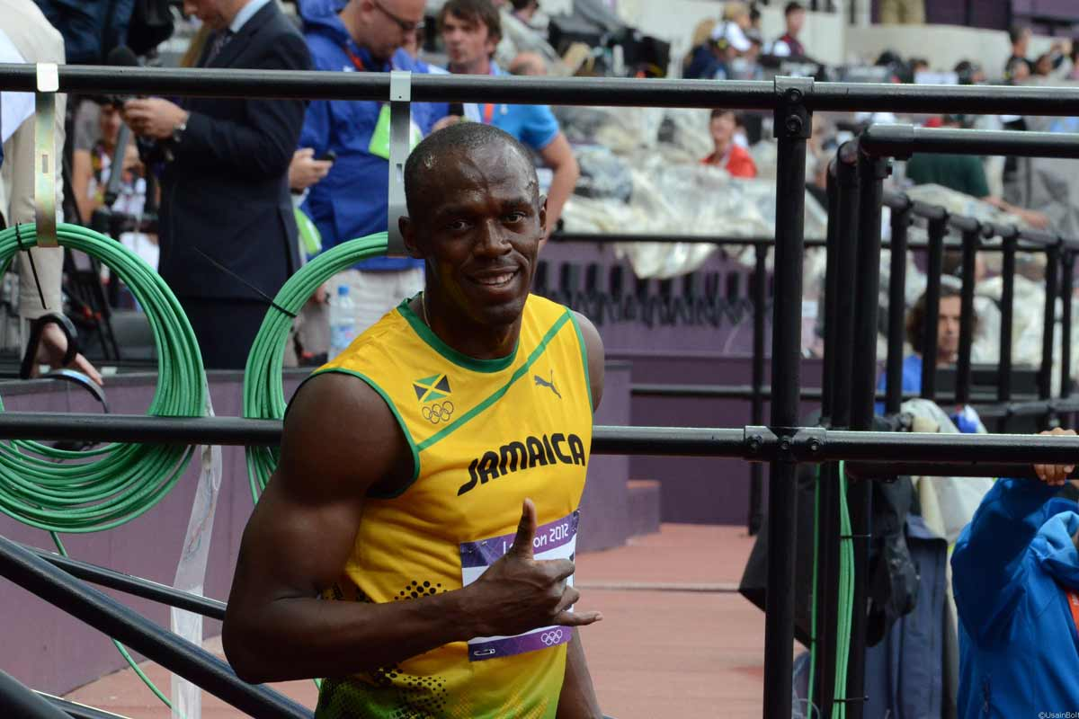 Usain Bolt, Olympiade 2012