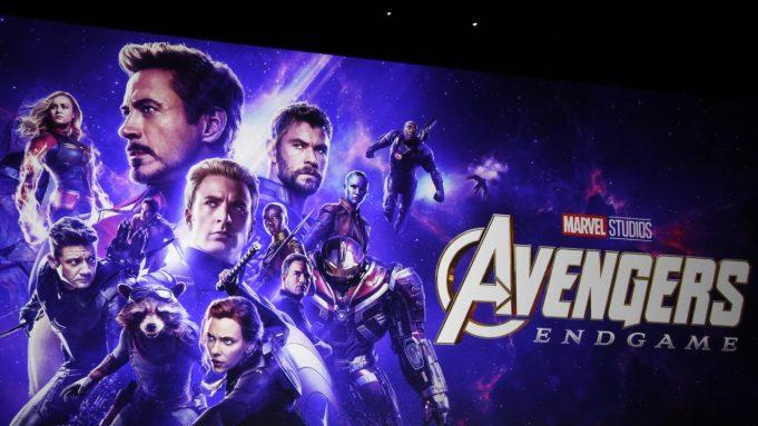 avengers endgame poster signed