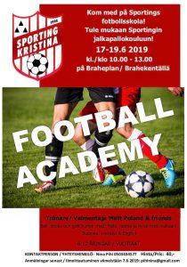Läs mer om artikeln Kom med på Sportings fotbollsskola!