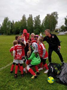 Read more about the article Ensimmäinen voitto T9 joukkueelle tänä iltana Laihialla