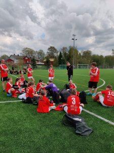 Read more about the article Sporting T12 pelasivat tasapelin, 4-4, SJK-j kultaa vastaan