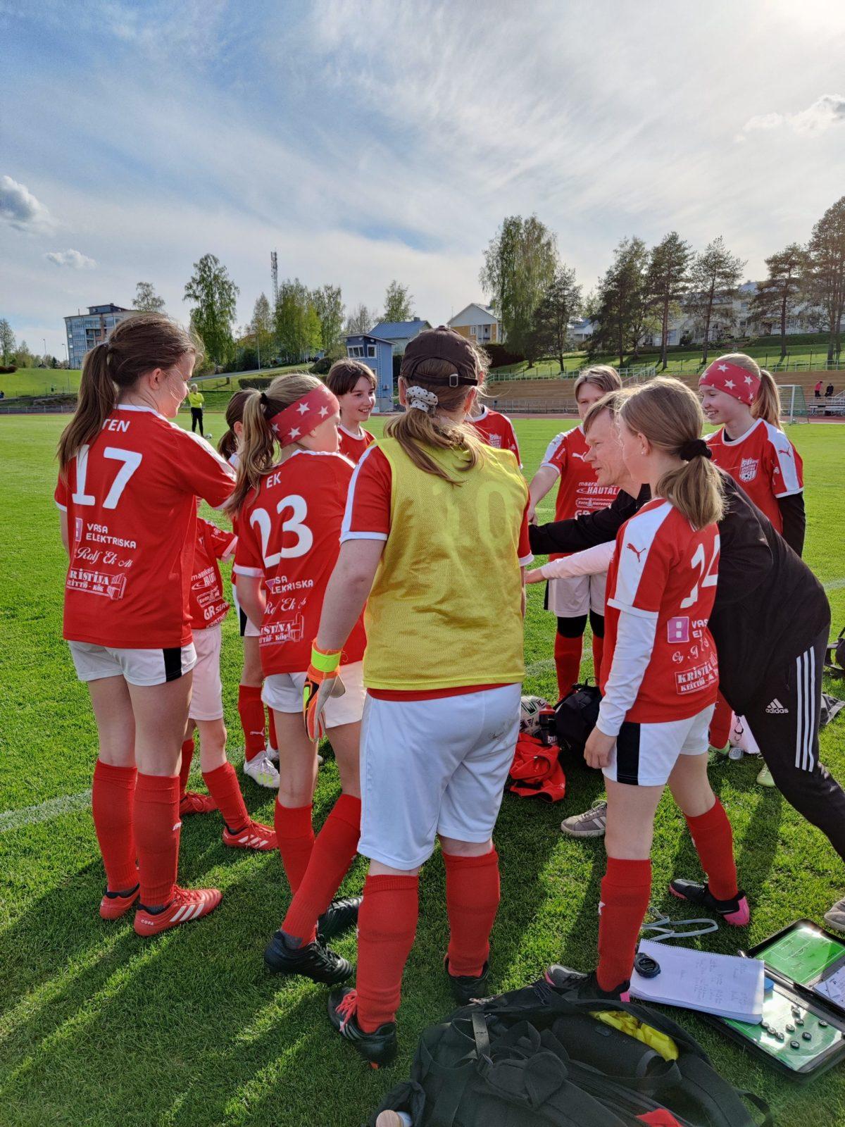 You are currently viewing Sporting T12 joukkue pelasi ottelun Kurikassa 25.5.2021