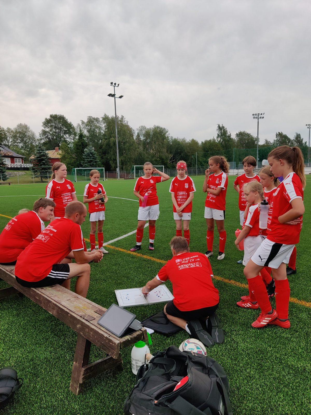 Read more about the article T12: Juniorcupen otteluita Lapväärtissä, 4.8.2021 klo. 18.00 ja 19.00