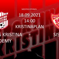 Academy vs Sisu 18.09 kl. 14.00