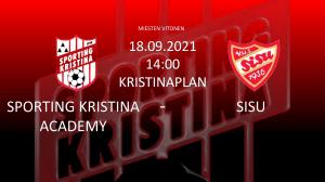 Läs mer om artikeln Academy vs Sisu 18.09 kl. 14.00