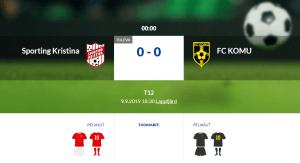 Läs mer om artikeln F12 Sporting Kristina – FC KOMU