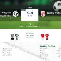T12 VPS-j T07 - Sporting Kristina 6-0 (5-0)