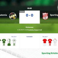KPV/Akatemia - Sporting Kristina
