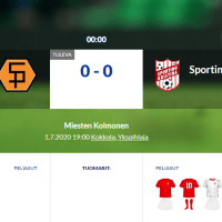 Sääripotku - Sporting Kristina