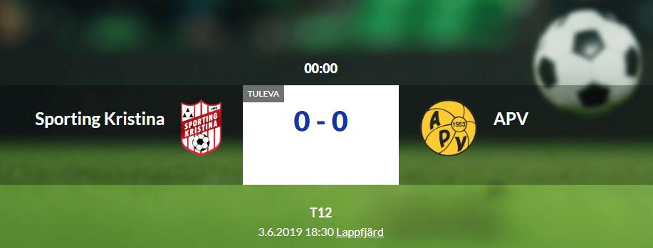 You are currently viewing F12 möter APV hemma i Lappfjärd idag